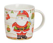 Becher Weihnachten mit Nikolaus Motiv, 300 ml Fassungsvermögen