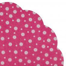 Japanserviette Blumen Pink 35x35cm