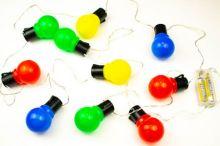 "LED Lichterkette ""Party Lichterkette bunt"""