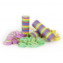 Party Luftschlangen 3er Set Länge 4m 5 farbig gestreift