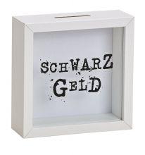 "Spardose Bilderrahmen ""Schwarzgeld"""