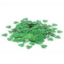 Tischkonfetti Glücksklee gestanzte Metallfolie Beutel 10g
