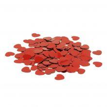 Tischkonfetti Herzen gestanzte Metallfolie Beutel 10g