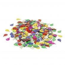 Tischkonfetti Luftballons gestanzte Metallfolie Beutel 10g